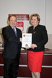 Авраамова Ольга Георгиевна награждена орденом за заслуги перед стоматологией 1 степени