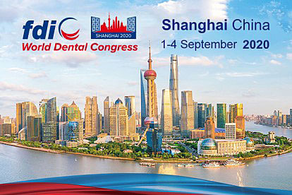 FDI World Dental Congress 2020 Shanghai